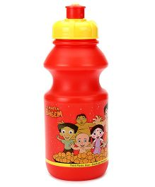 Chhota Bheem Sipper Water Bottle Red And Yellow - 400 ml