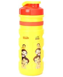 Chhota Bheem Sipper Water Bottle Yellow And Red - 550 ml