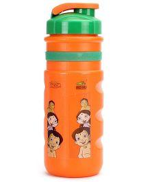 Chhota Bheem Sipper Water Bottle - Orange