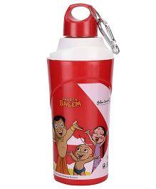 Chhota Bheem Insulated Bottle Red - 600 ml