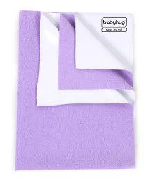Babyhug Smart Dry Bed Protecting Sheet Lilac - Small