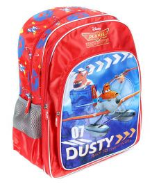 Disney Pixar Planes School Backpack Red - 18 Inches