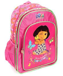 Dora School Backpack Spring Time Print - 18 Inches