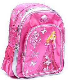 Disney Princess School Back Pack Pink - 14 Inches
