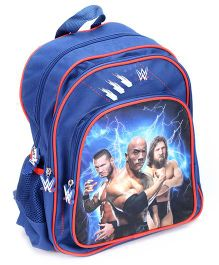 WWE School Back Pack Blue - 16 Inches