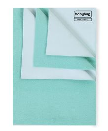 Babyhug Smart Dry Mat Sea Green - Small
