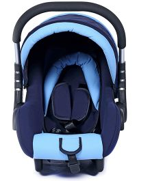 Fab N Funky Infant Car Seat With Adjustable Canopy - Sky And Navy Blue