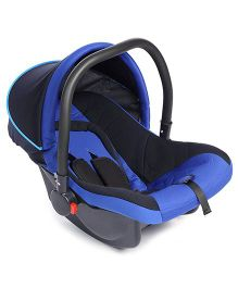 Fab N Funky Infant Car Seat With Adjustable Canopy - Dark Blue