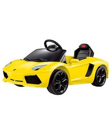 Rastar Battery Operated Lamborghini Aventador LP 700-4 Ride On Car - Yellow
