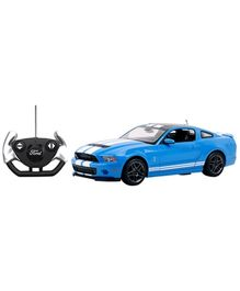 Rastar Remote Controlled Ford Shelby GT500 Car - Blue