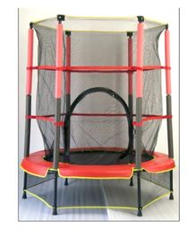 Playwell Ground Equipment Trampoline With Net - 55 Inches