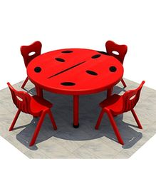 Playwell Play Ground Lady Bird Desk No Chairs