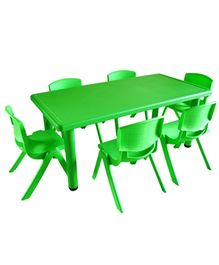 Playwell Play Ground Rectangle Table No Chairs