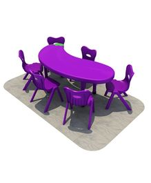 Playwell Play Ground Eggplant Desk No Chairs