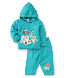 Cucumber Hooded T-Shirt And Leggings - Tom And Jerry Print