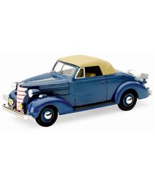 New-ray 1938 Cheverolet Master Convertible Cabriolet - Blue
