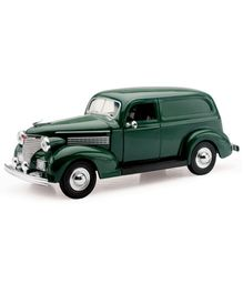 New-ray Die Cast Car 1939 Chevy Sedan Delivery - Dark Green
