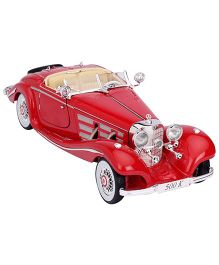 Maisto 1936 Mercedes Benz 500K Type Special Roadster - Red