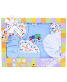 Mee Mee Newborn Baby Gift Set - Pack of 6