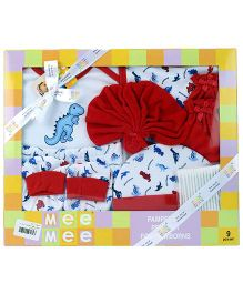 Mee Mee Gift Set Red - Pack of 9