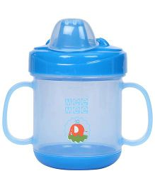 Mee Mee Twin Handle Non Spill Cup - Blue