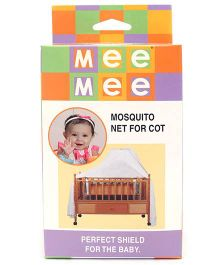 Mee Mee Mosquito Net For Cot - White