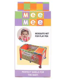 Mee Mee Mosquito Net For Play Pen - White