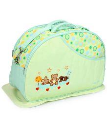 Mee Mee Nursery Bag Teddy Bear - Green