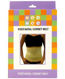 Mee Mee Post Natal Corset Belt - Cream