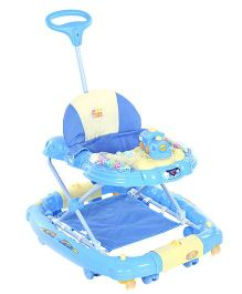 Mee Mee Engine Musical Walker Cum Rocker - Blue