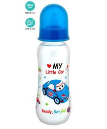 Mee Mee Polypropylene Plastic Premium Feeding Bottle Blue - 250 ml
