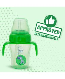 Mee Mee Straw Training Cup Green - 210 ml (Prints May Vary)