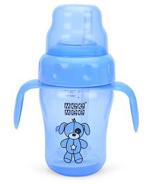 Mee Mee Straw Training Cup Blue - 210 ml (Prints May Vary)