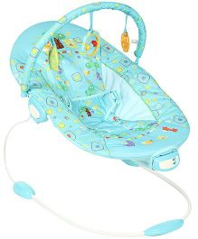 Mee Mee Melodious And Vibrating Bouncer Sea Green - MM-821A