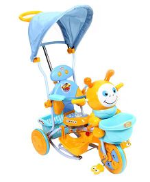 Mee Mee Tricycle With Canopy And Push Handle - Blue