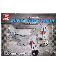 Toy Kraft Mini Aircrafts Twin Props Helicopter