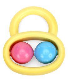 Babyhug Ball Rattle - Yellow