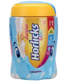 Horlicks Junior Original Flavour Stage 1 - 500 gm Jar