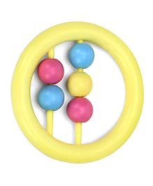 Babyhug Beads Rattle - Yellow