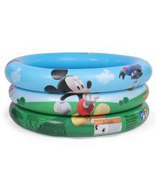 Mickey Mouse And Friends Inflatable Baby Pool - Multicolour