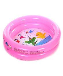 Bestway Round Shaped 2 Rings Kiddie Pool - Pink