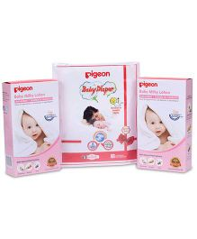 Pigeon Baby Milky Lotion Combo Pack - 400 ml