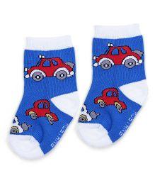 Mustang Kids Socks - Cars Print
