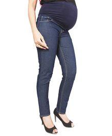 Nine Maternity Slim Fit Denim Jeans - Carbon Blue