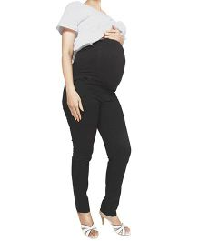 Nine Maternity Slim Fit Denim Jeans - Black
