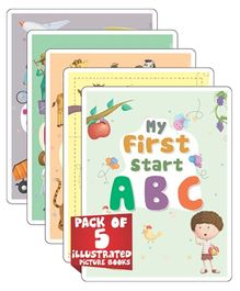 Young Angels Pack Of 5 My First Start Series - English