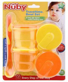 Nuby - Traveltime Bowl Set