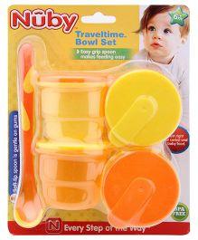 Nuby - Traveltime Bowl Set