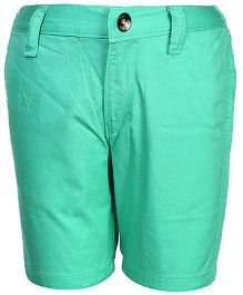 Gini & Jony Plain Bermuda Shorts - Green
