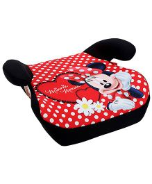 Disney International Minnie Mouse Child Seat Rise - Red And Black